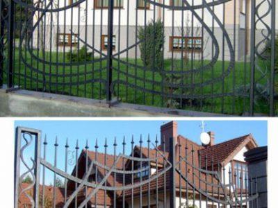 Ogrodzenie Płot kuty - Kowalstwo Artystyczne