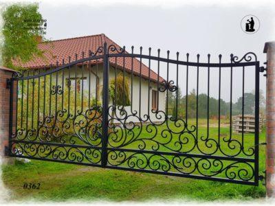 Brama Kuta - Kowalstwo Artystyczne