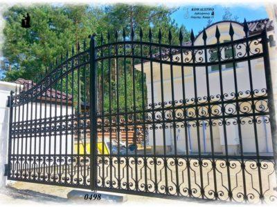 Kuta brama pałacowa - Kowalstwo Artystyczne