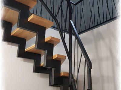 Balustrada loft schody